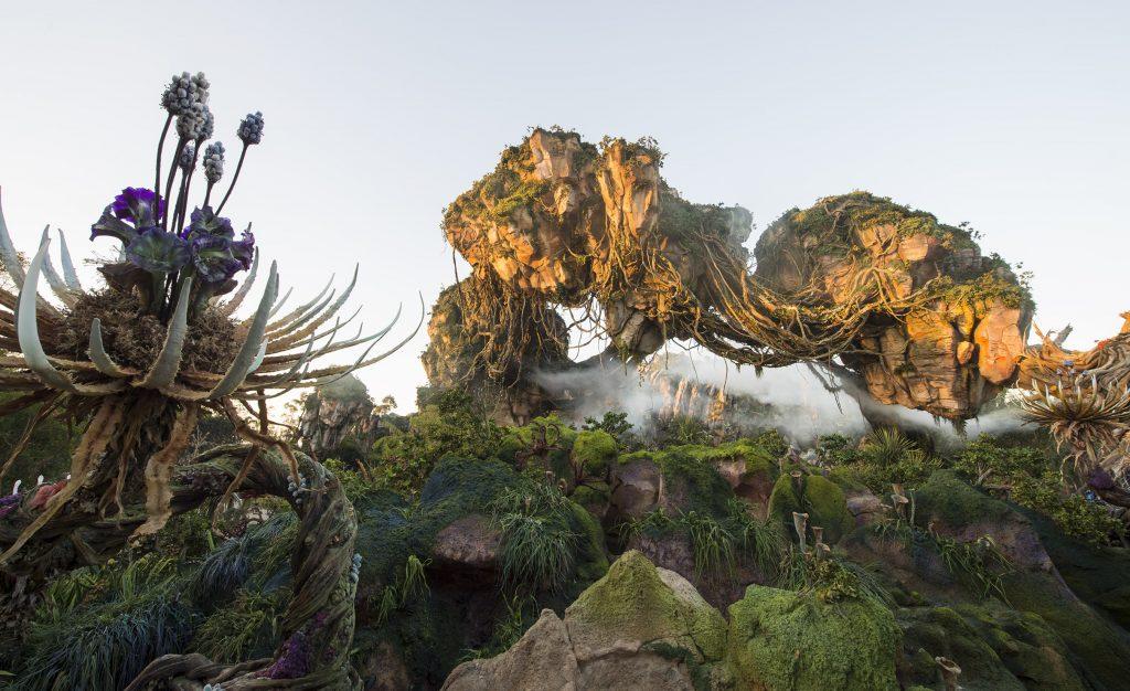 The Pandora section of Animal Kingdom looks beautiful.