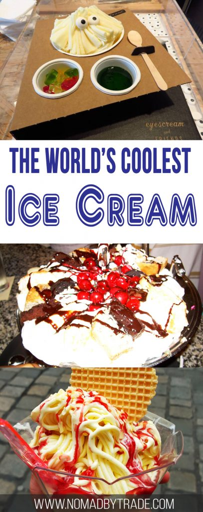 Globetrotting travel bloggers from around the world share the coolest ice creams they've ever had.