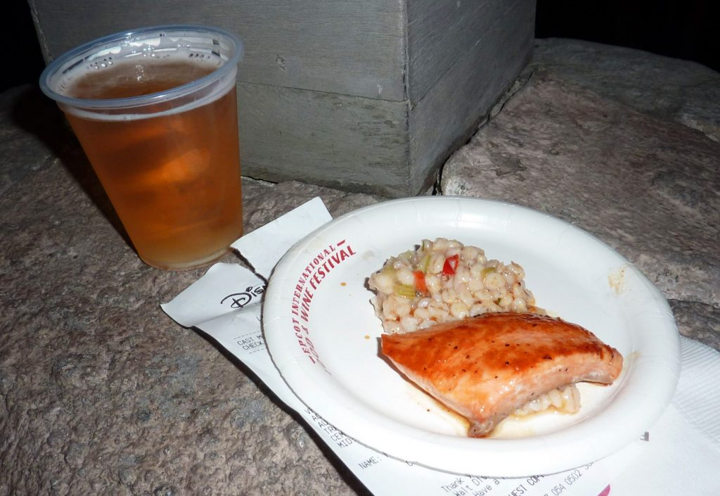Food and Wine Festival food and drink at Epcot