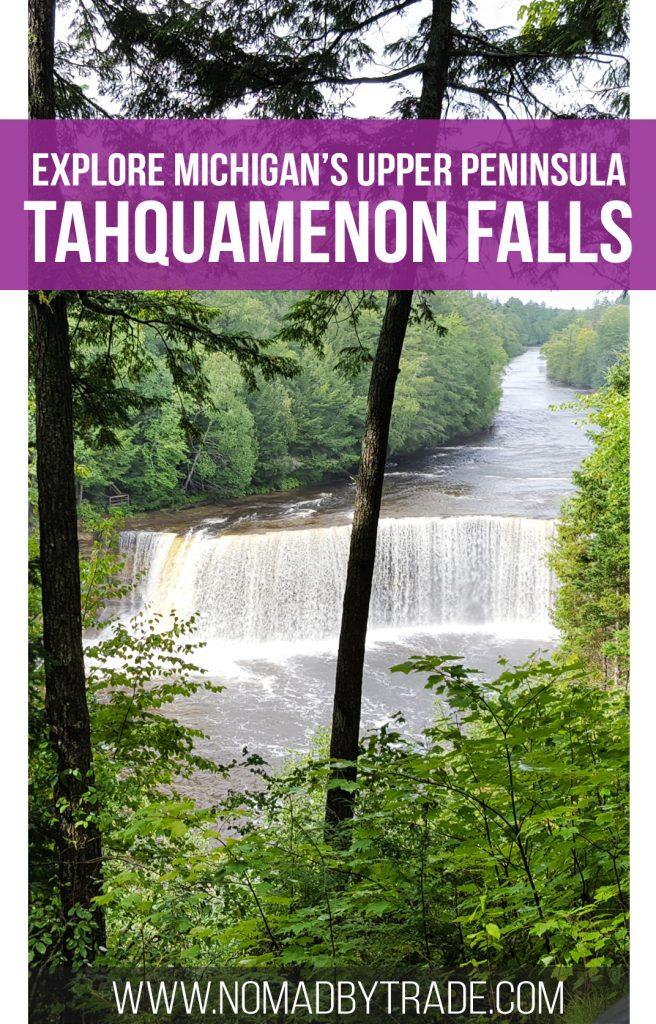 Tahquamenon Falls in Michigan's Upper Peninsula offers great views and fun recreation activities. | USA