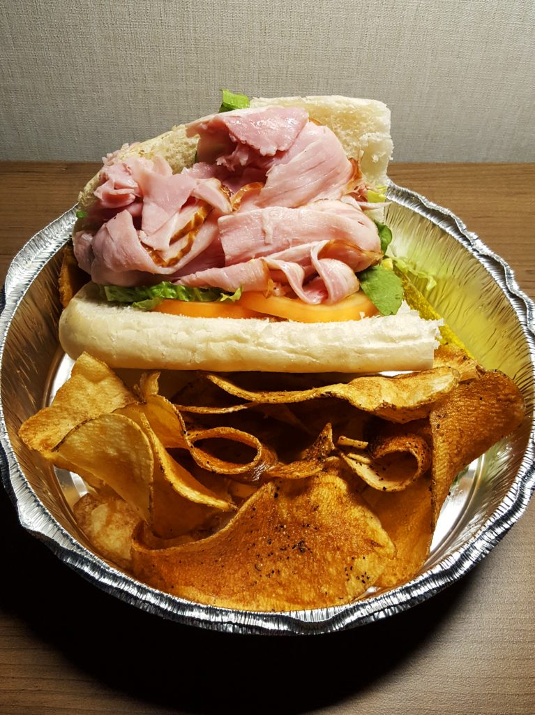 Ham po'boy from the Paris Public House - Albany Dining Guide