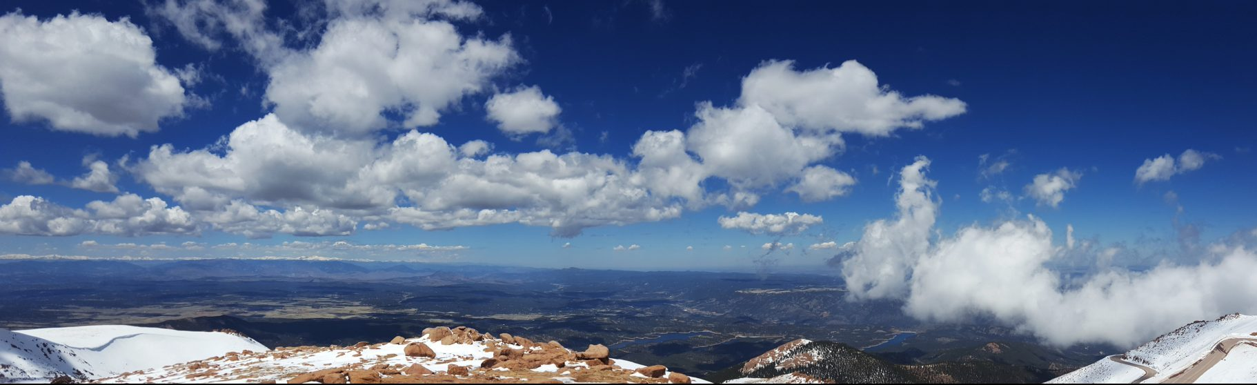 Driving to the Top of Pikes Peak