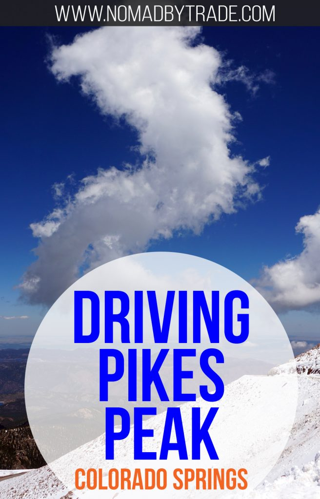 Everything you need to know about driving to the top of Pikes Peak in Colorado Springs, Colorado. Rocky Mountains | Things to do in Colorado Springs | Pikes Peak summit | Fourteeners | Colorado attractions