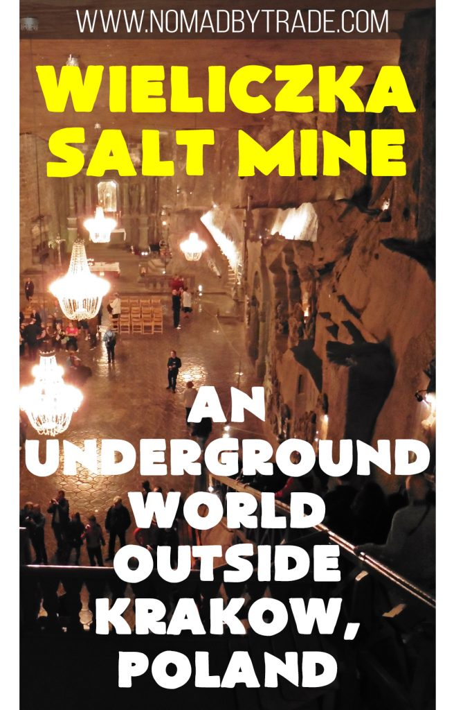 The Wieliczka Salt Mine near Krakow, Poland (a UNESCO World Heritage Site) takes visitors through a maze of salt sculptures and includes an underground chapel complete with salt chandeliers. Poland   Krakow   St. Kinga   Salt Mine   Things to do in Krakow