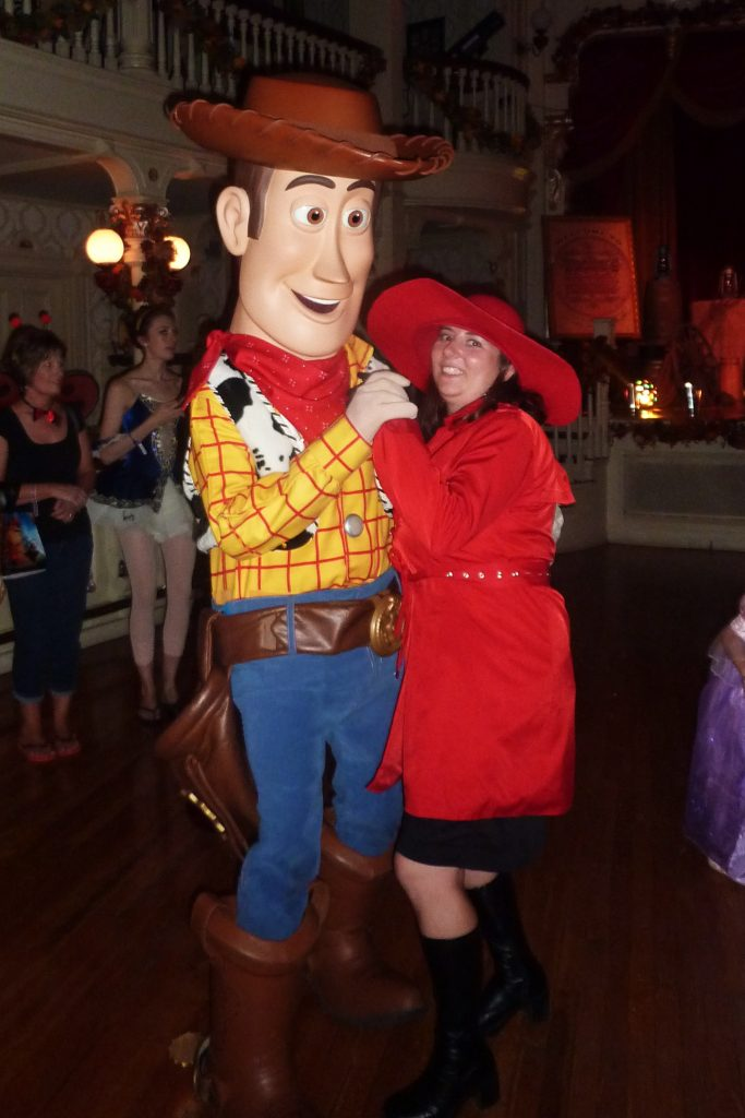 Character dance at Mickey's Not so Scary Halloween Party