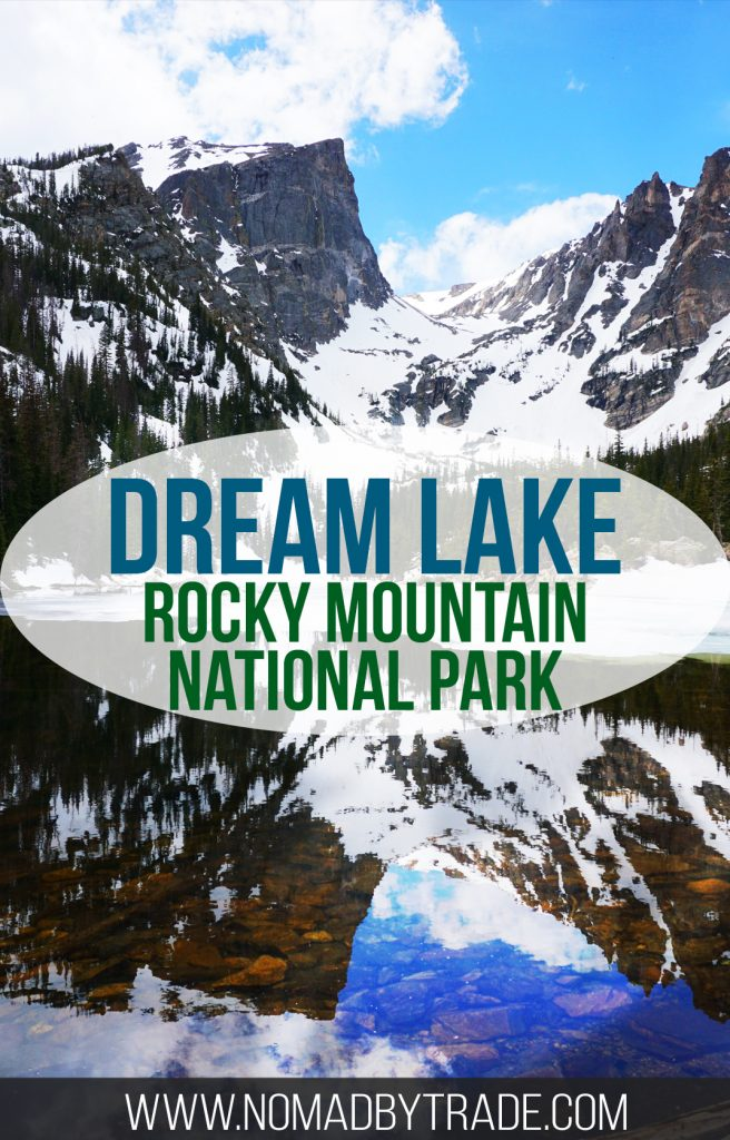 The Dream Lake Trail in Rocky Mountain National Park is an easily accessible trail that offers spectacular views of mountain lakes. Colorado   Rocky Mountain National Park   Bear Lake   Nymph Lake   #Colorado   #RMNP   #RockyMountainNationalPark   #ColoradoHikes   #EstesPark