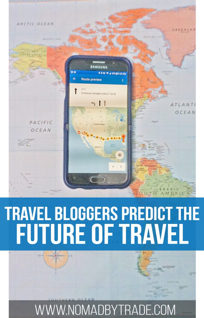 With cities like Venice and Barcelona fighting against mass tourism and technology rapidly changing, travel will look very different in the future. Several travel bloggers predict what the future of travel will look like. Technology in travel | Photography gear | Opening of borders