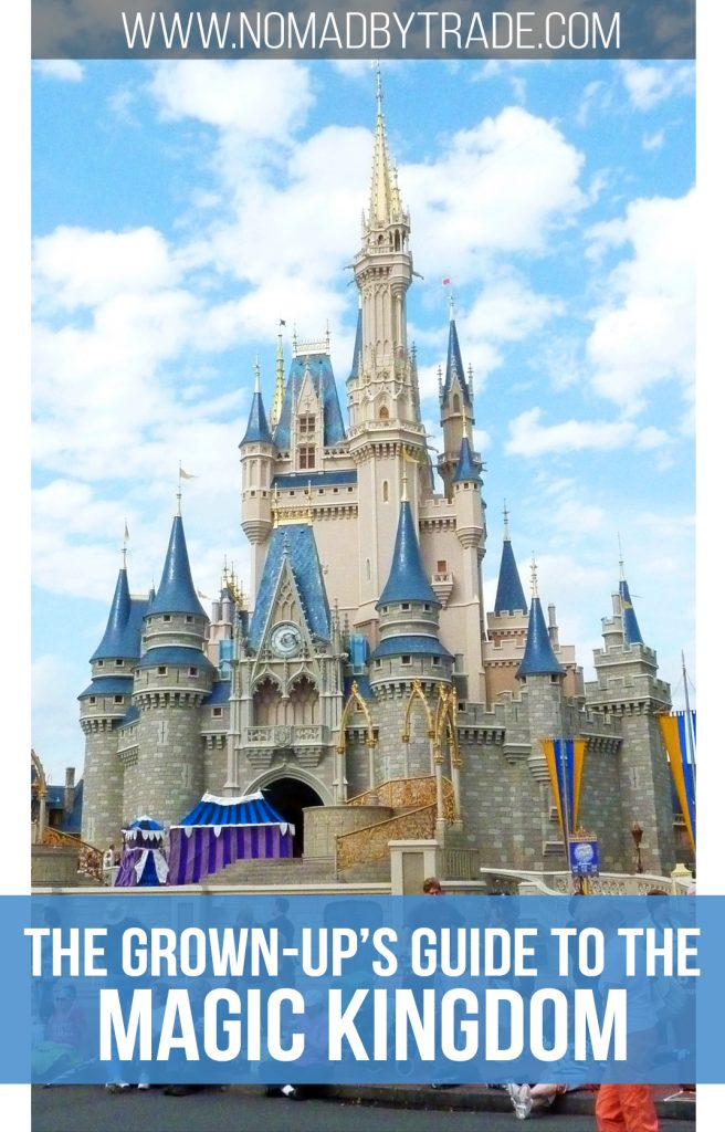 There is plenty to do for adults at the Magic Kingdom. Read about the best rides, food, and shows. data-pin-description=