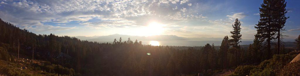 View of Lake Tahoe from Van Sickle Bi-State Park