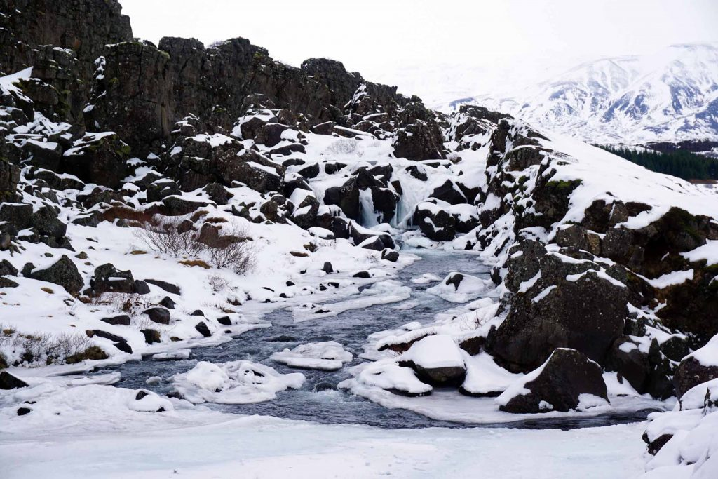 Þingvellir National Park in Iceland's Golden Circle