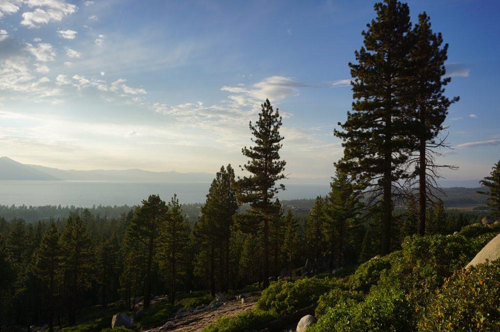 The best view of Lake Tahoe at Van Sickle Bi-State Park