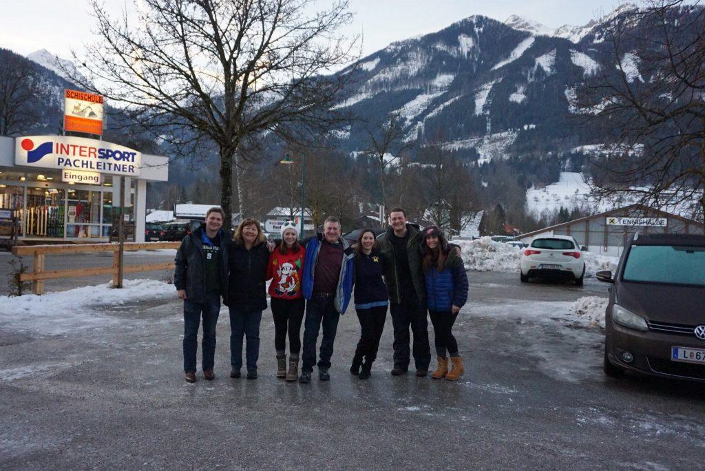 Ski rental at Hinterstoder, Austria