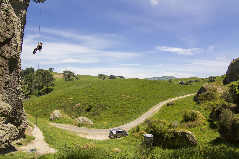 Couples travel in New Zealand