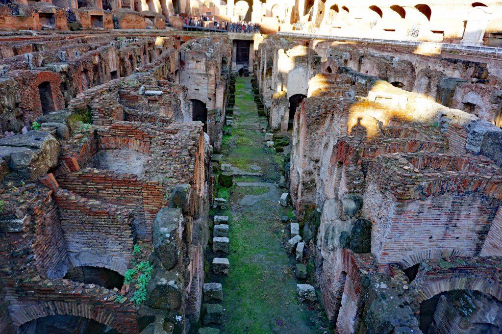 The Colosseum Underground