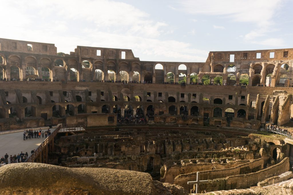 Top of the Colosseum tour in Rome