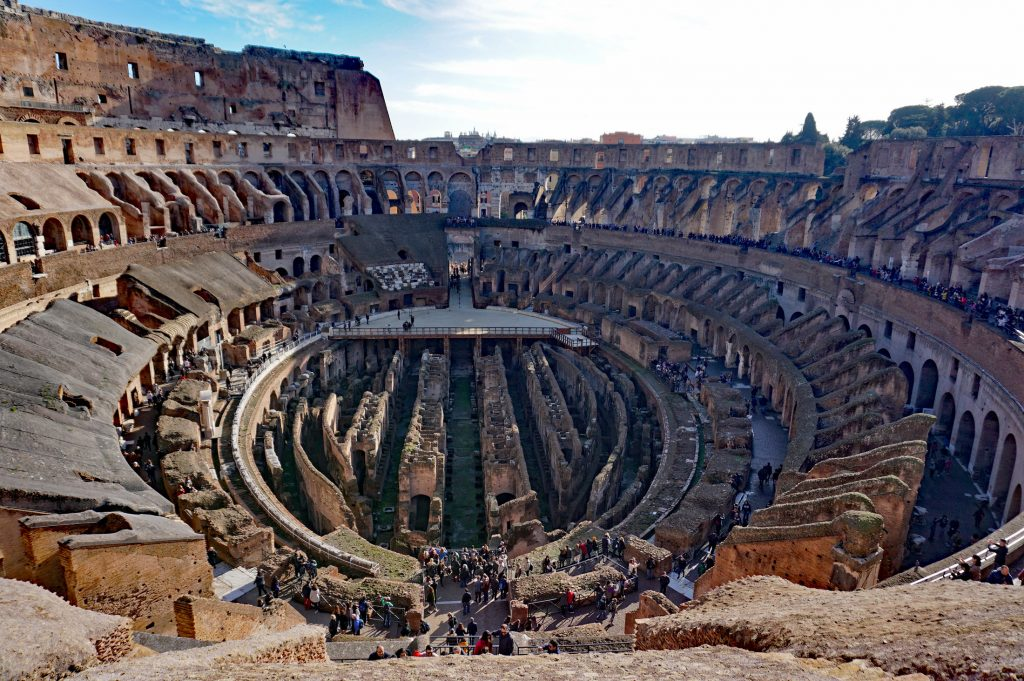 Fifth level of the Colosseum