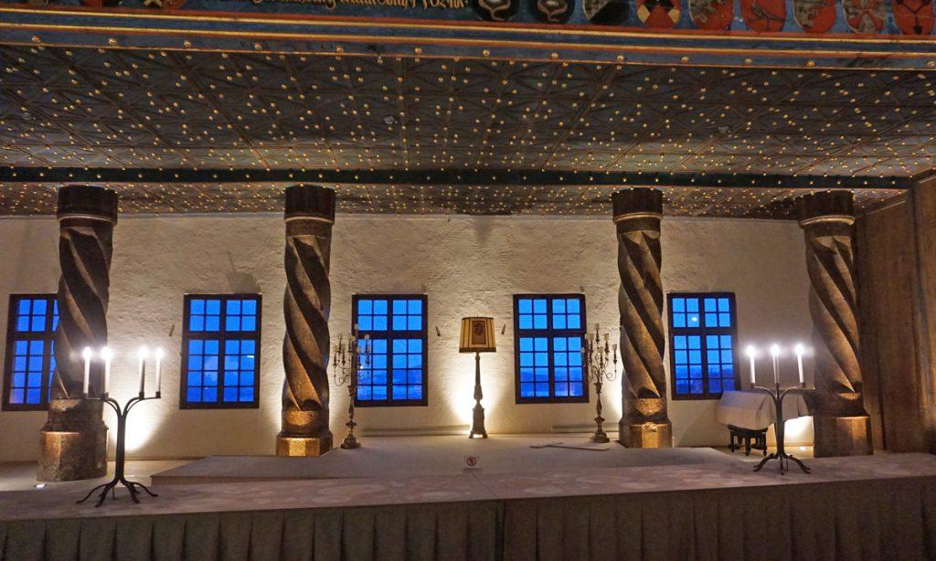 Ballroom at Fortress Hohensalzburg