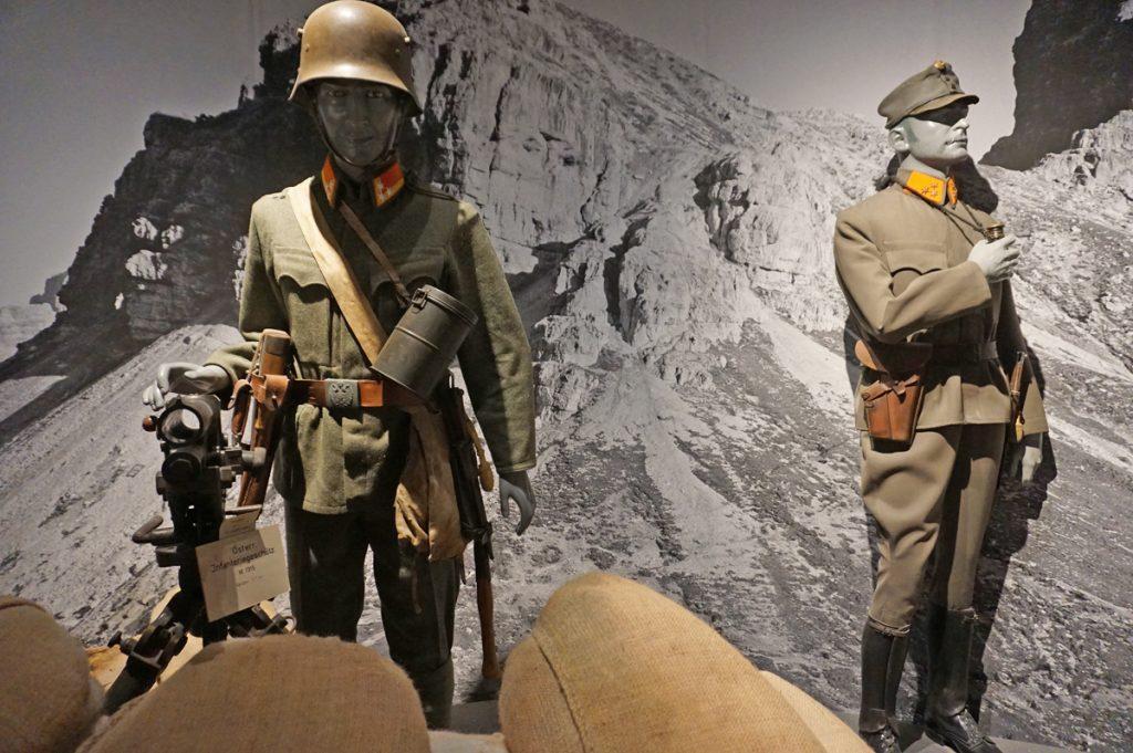 Military exhibit at Fortress Hohensalzburg
