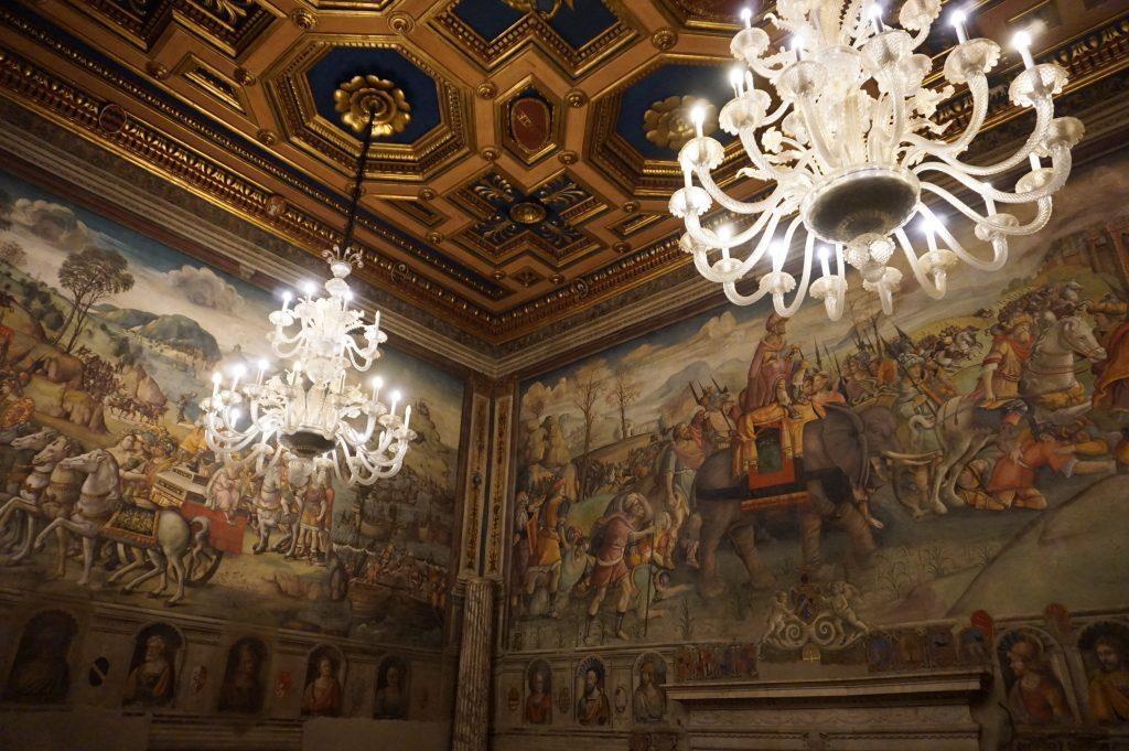 Conservator's apartment at the Musei Capitolini