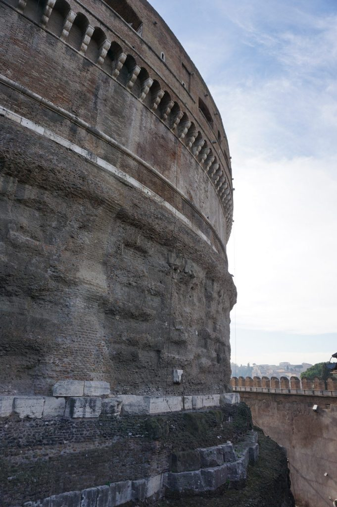 Castel Sant'Angelo in Rome, Italy
