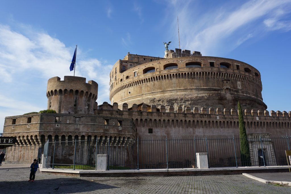 Visiting Castel Sant'Angelo in Rome, Italy
