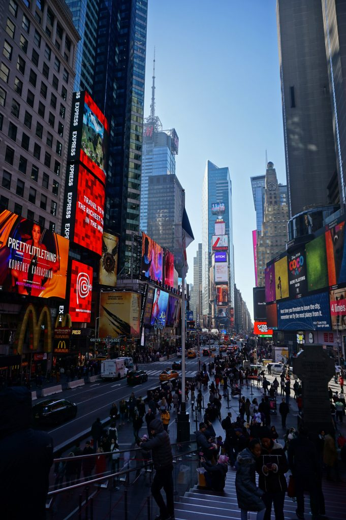 Times Square - Buying discounted Broadway tickets in New York City