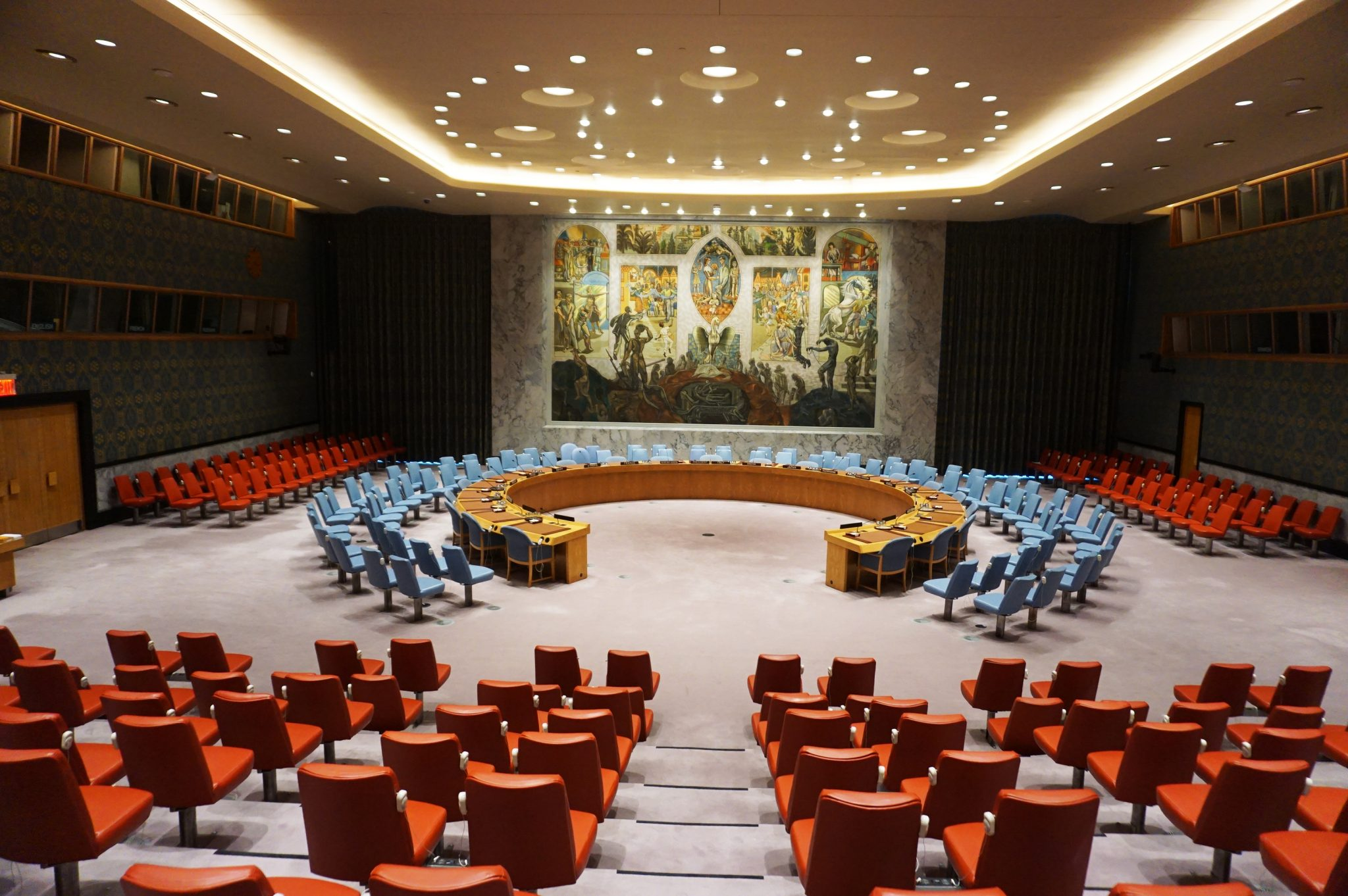 Touring the United Nations Headquarters in New York City