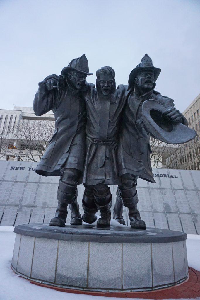 New York firefighters memorial - Albany, NY