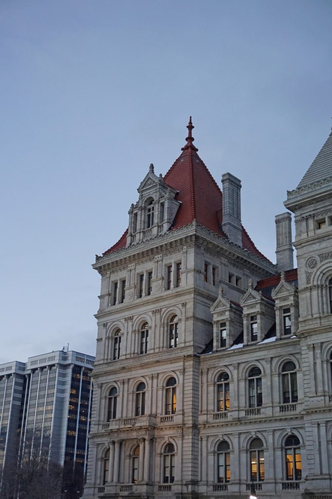 New York State Capitol tour in Albany, NY