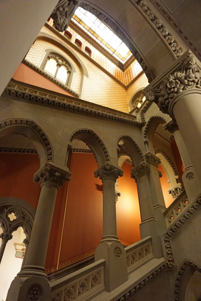 Assembly Staircase - New York State Capitol tour Albany, NY