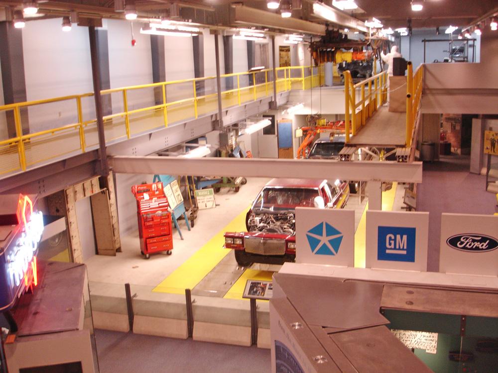 Replica automotive factory