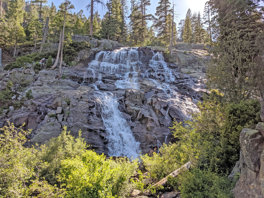 Eagle Falls in Emerald Bay State Park