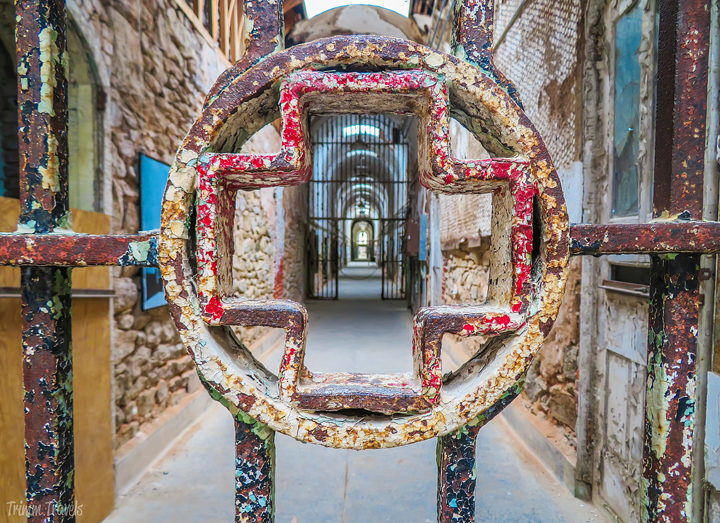 Hospital wing in Eastern State Penitentiary