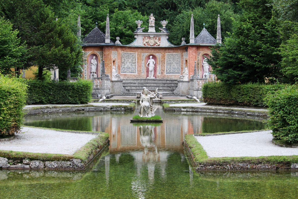 The Hellbrunn Palace Trick Fountains are the Most Fun You'll Have in Salzburg