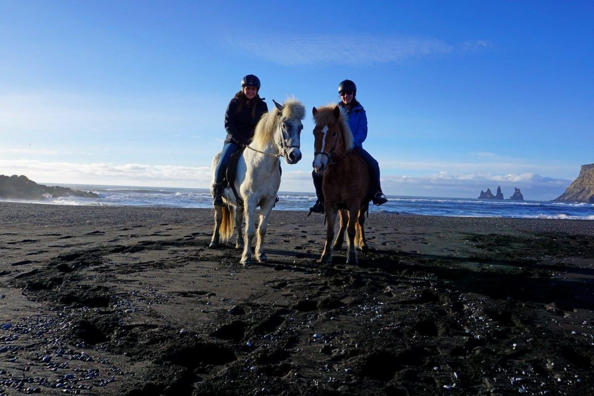 The Best Spot to Ride Icelandic Horses