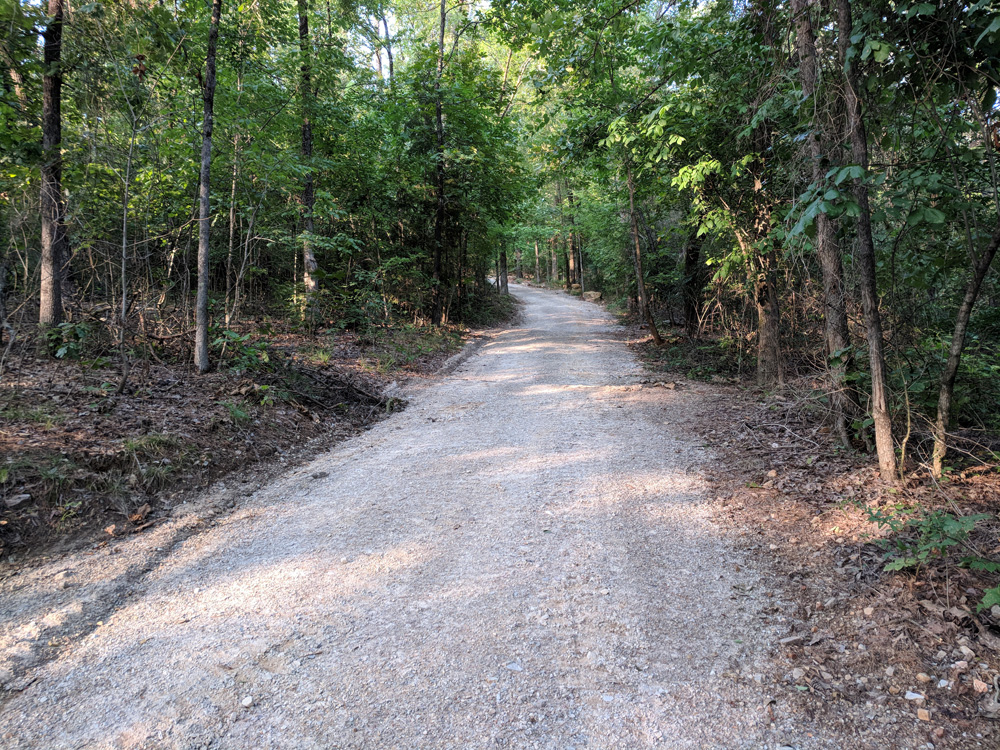 Part of the Dead Chief Trail - Hot Springs National Park Trails