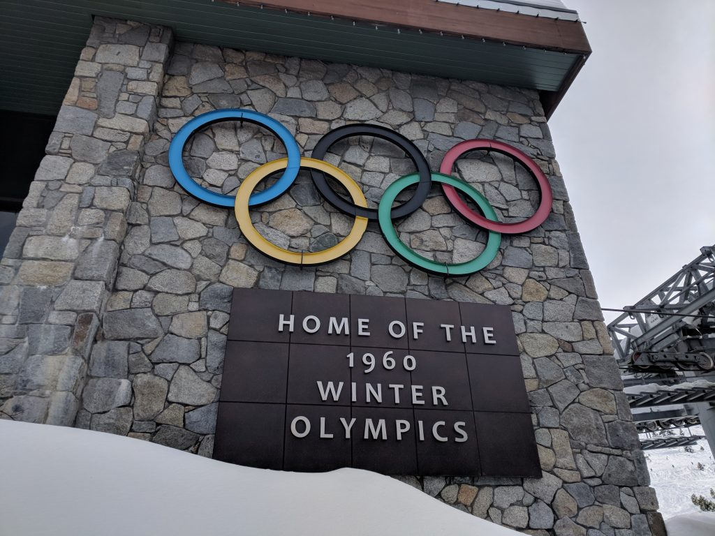 Olympic rings at Squaw Valley