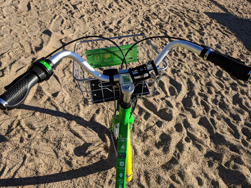 Limebikes in South Lake Tahoe