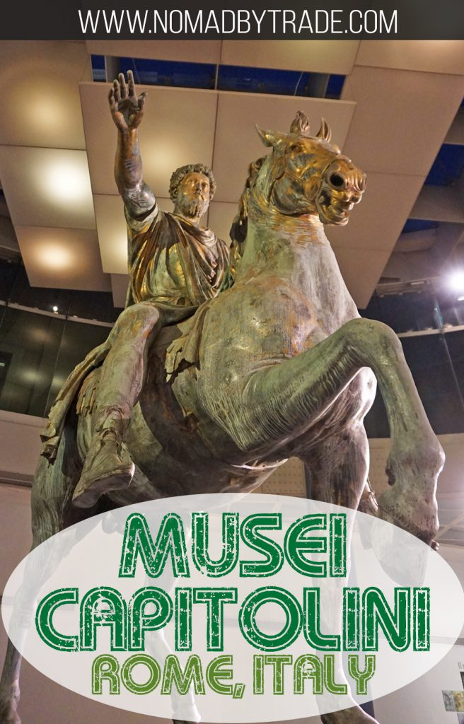 The Musei Capitolini, located in the heart of Rome, Italy, has extensive galleries devoted to Roman art and artifacts. Don't miss it during your Rome visit. #Rome | #Italy | Things to do in Rome | Museums in Rome | #MuseiCapitolini