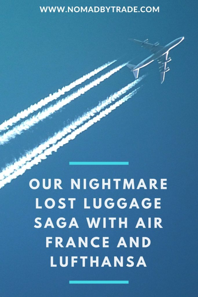 Read all about how Air France and Lufthansa refused to help my family during the ten days they spent in Europe without their luggage. We were hung up on, lied to, and have been fighting for the compensation we're entitled to under EU laws for the last month. #AirFrance   #Lufthansa