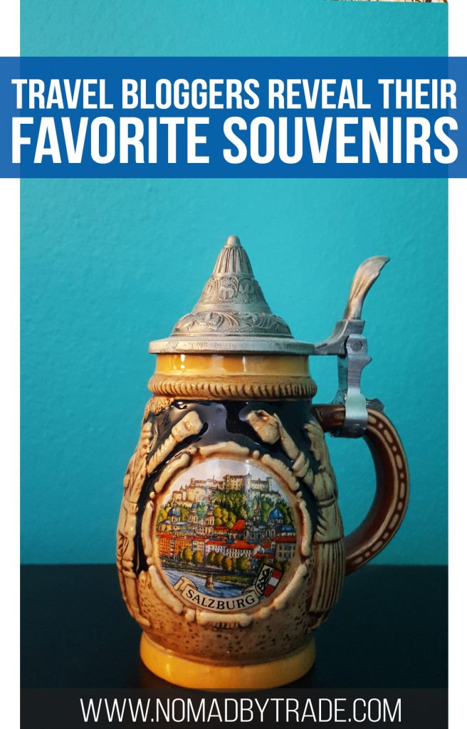 What is the best souvenir you ever bought while traveling? Globetrotting travel bloggers reveal theirs. #TravelBlog | #Souvenir | Female travel bloggers | Travel souvenirs | Around the world