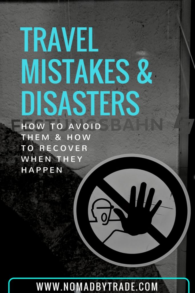 Travel mistakes can happen to anyone, even experienced travelers. Find out about the biggest travel mistakes and travel disasters my family encountered, how to avoid travel mistakes, and how to recover from travel disasters when they happen. | #TravelTips | #TravelMistakes | Travel tips | Biggest travel mistakes