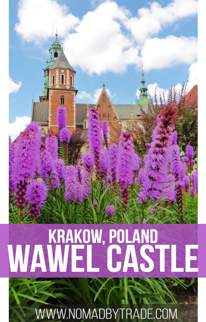 Touring Wawel Castle is one of the top things to do in Krakow, Poland. This Polish castle was home to the royal family for years, and has beautiful architecture and fascinating history. #Krakow | #Poland | Places to see in Krakow | Castles in Poland | Polish history | Wawel Hill