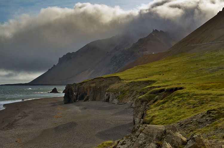 View of a stop along the Ring Road, one of the top ten things to do in Iceland