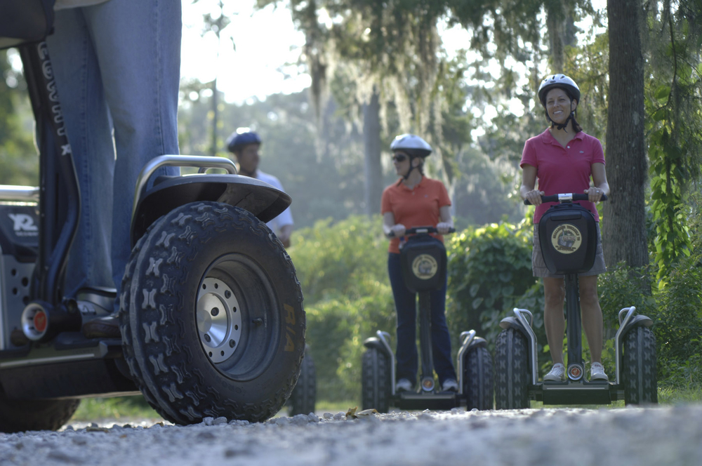 Back Trail Segway tour at Disney's Fort Wilderness Campground