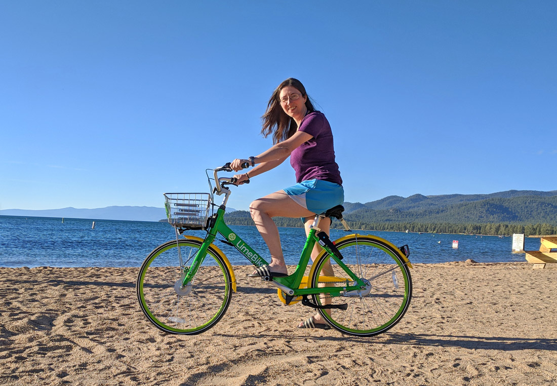 How to use LimeBikes in South Lake Tahoe