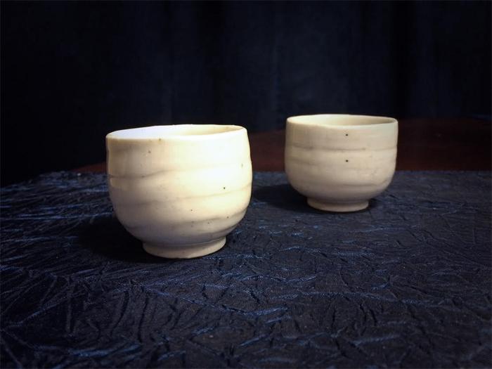 Tea cups from South Korea - Road Unraveled