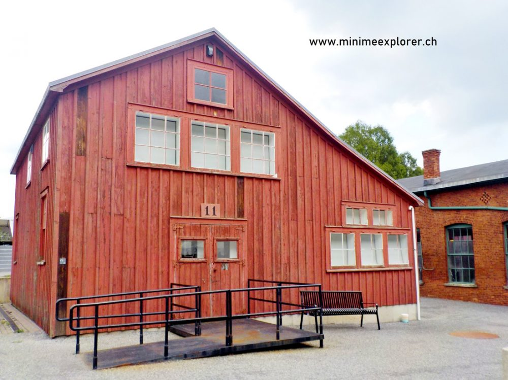 Wood planked building from Thomas Edison's Lab in New Jersey