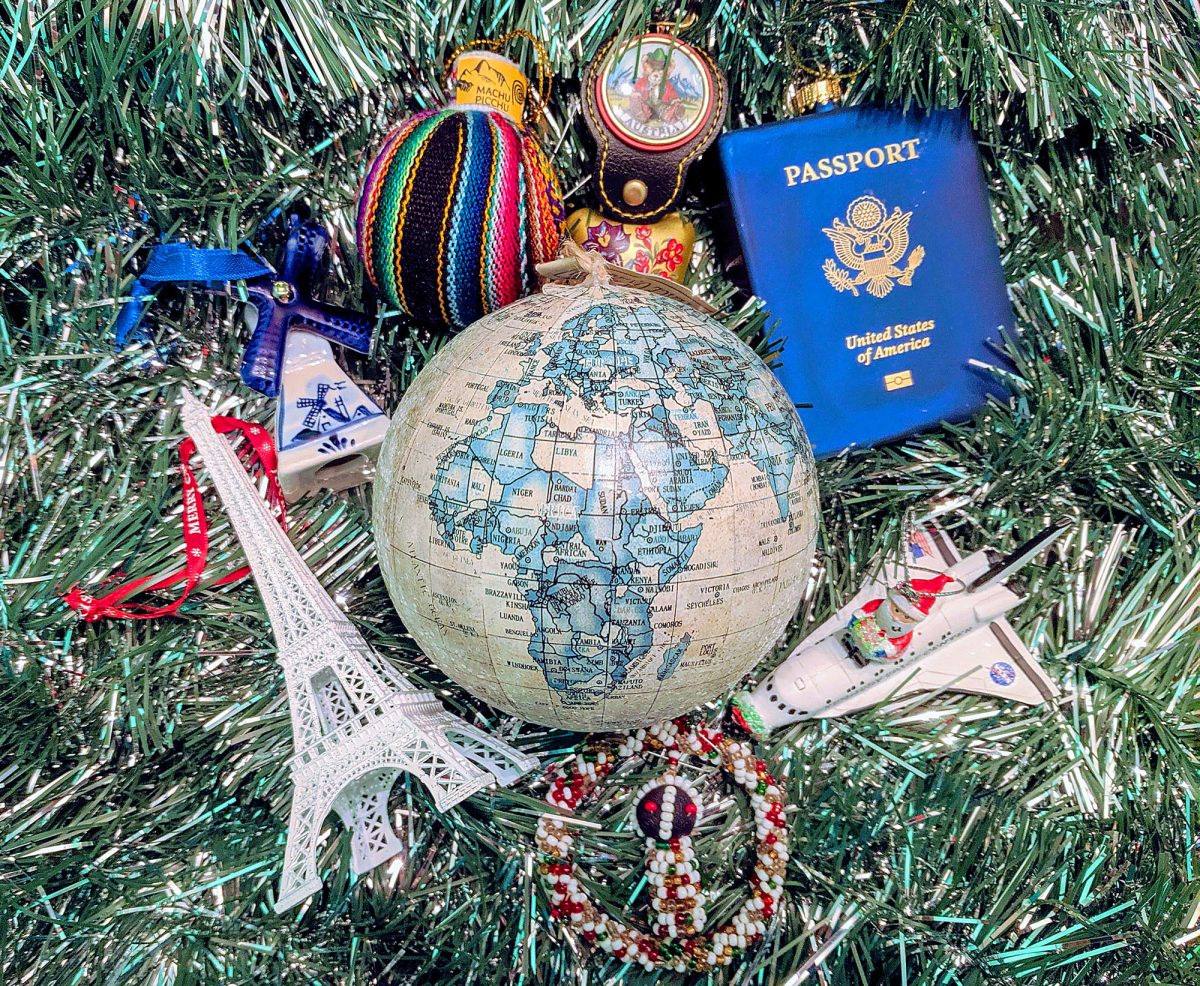 Travel Ornaments And Other Décor For The Perfect Wanderlust Inspired Tree Nomad By Trade