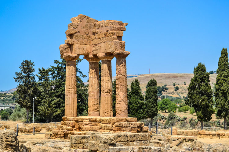 Greek Ruins in Sicily's Valley of Temples
